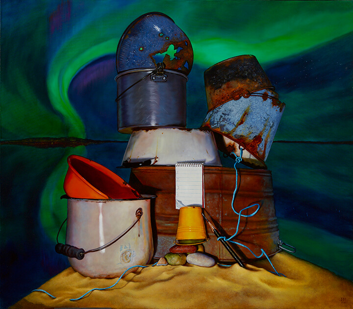 Bucket List, Available at Sugarman Peterson Gallery in Santa Fe, NM