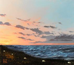 Cerulean Sunrise